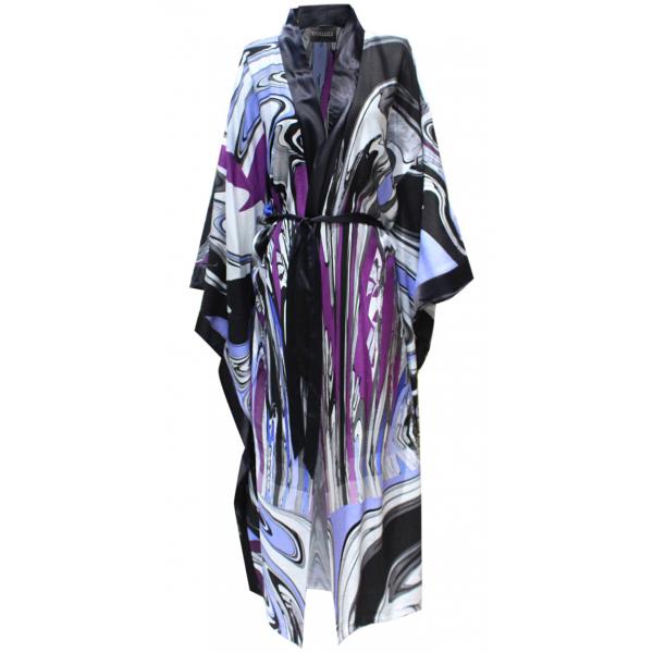 Purple Dreamy Kimono Kaftan Purple Dreamy Kimono Kaftan
