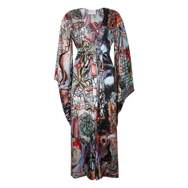 Antoni Gaudi Kimono Elbise Antoni Gaudi Kimono Elbise