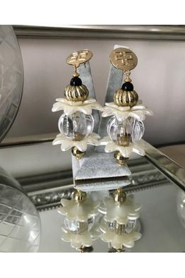 Aypen Accessories Crystal Flower Sky Sands