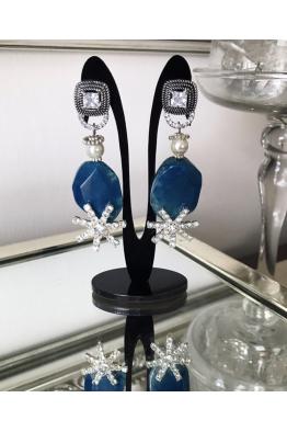 Aypen Accessories Blue Crystal Sky Sands