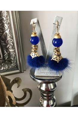 Aypen Accessories Blue Fur Sky Sands