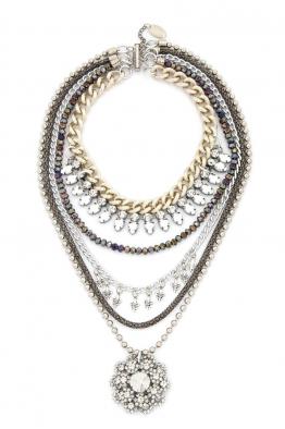 Aypen Accessories Crystal Flower Chains