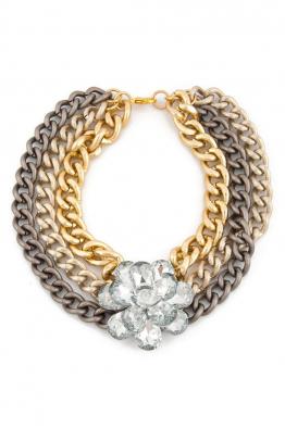 Aypen Accessories Golden Flower Chains