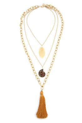 Aypen Accessories Naturel Fossil Beads