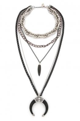 Aypen Accessories Black Tusk Chains