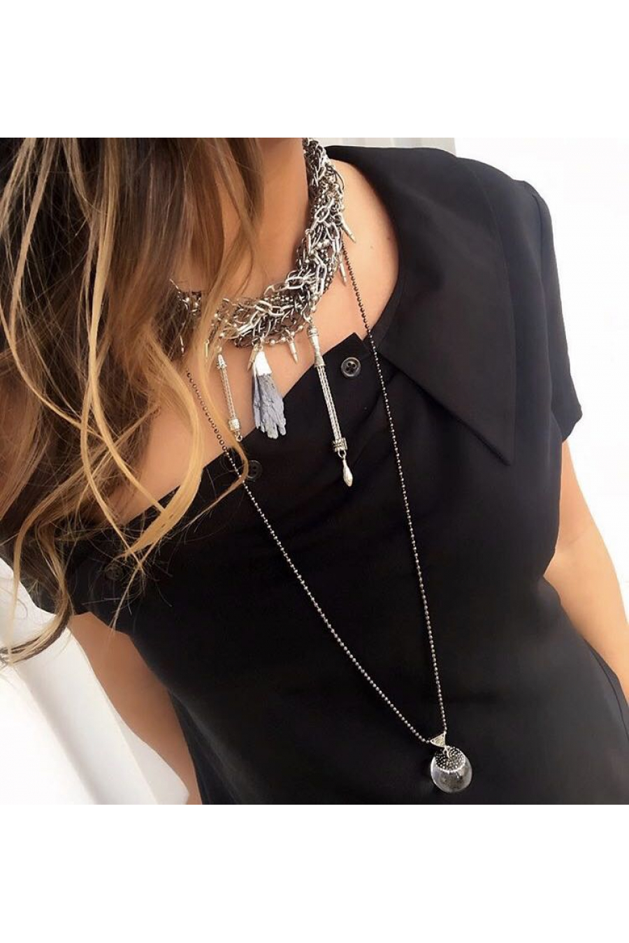 Crystal Rainy Beads