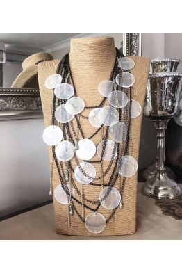 Aypen Accessories Pearl Mussel Chains