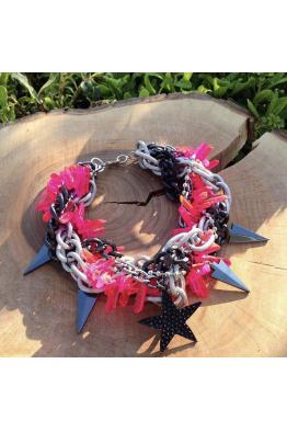 Aypen Accessories Pink Quartz Star Beads