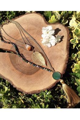 Aypen Accessories Leaf Beads Chains