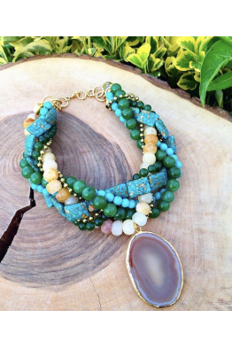 Aypen Accessories Turquoise Beads