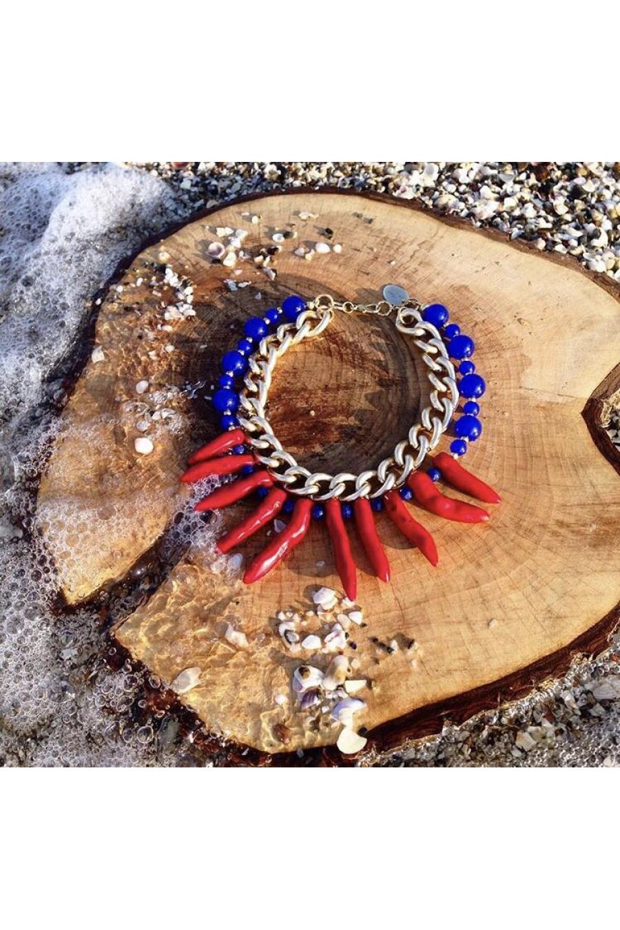 Ocean Coral Beads