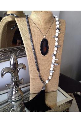 Aypen Accessories Quartz&Agate Beads