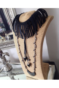Black Bat Beads Chains