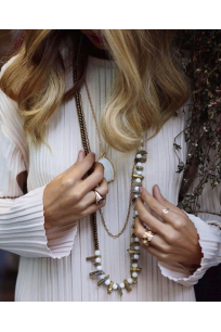 Golden Quartz Beads