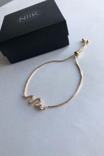 Golden Snake Bileklik