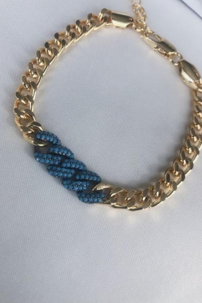 Grace Blue Bileklik