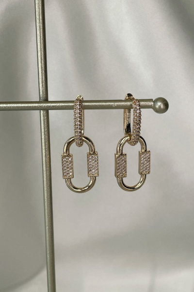 Lucia Gold Earring