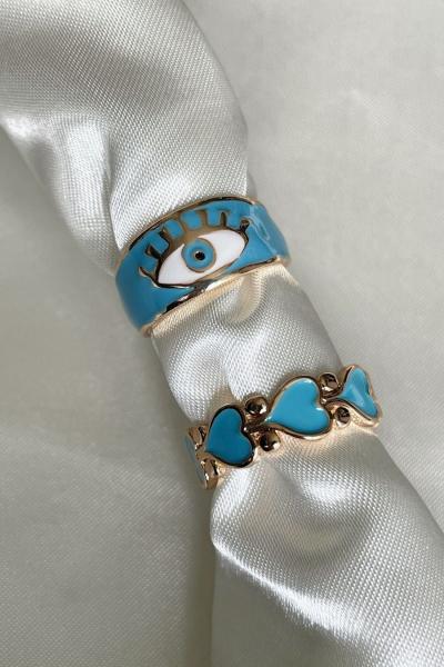 Blue Eye Yüzük
