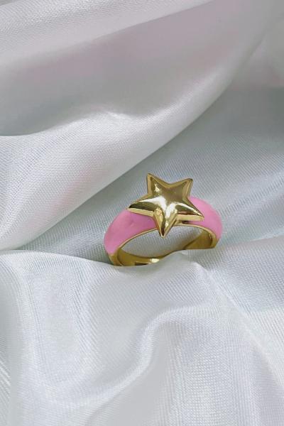 Pink Star Ring Pink Star Ring