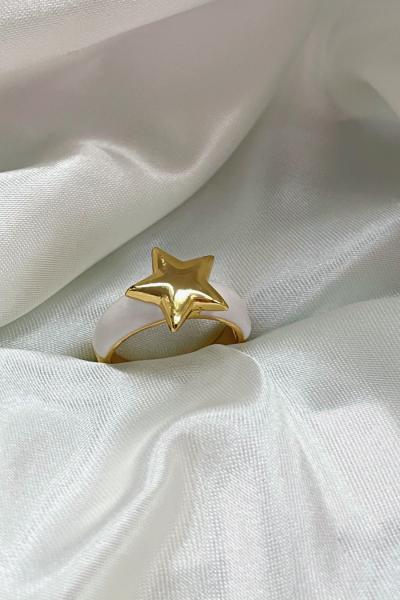 White Star Ring White Star Ring