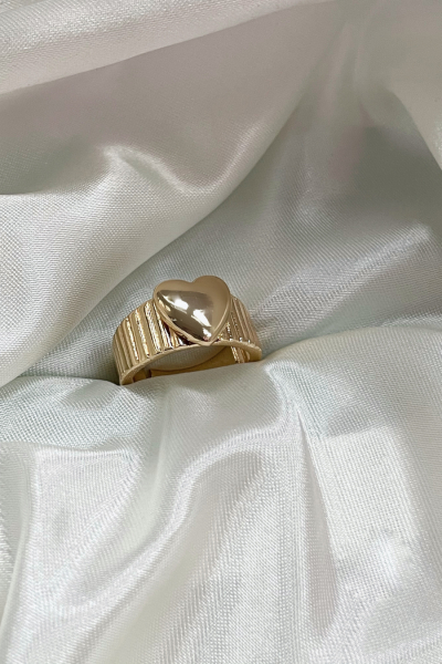 Gold Love Ring Gold Love Ring