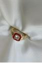 Red Diamond Ring