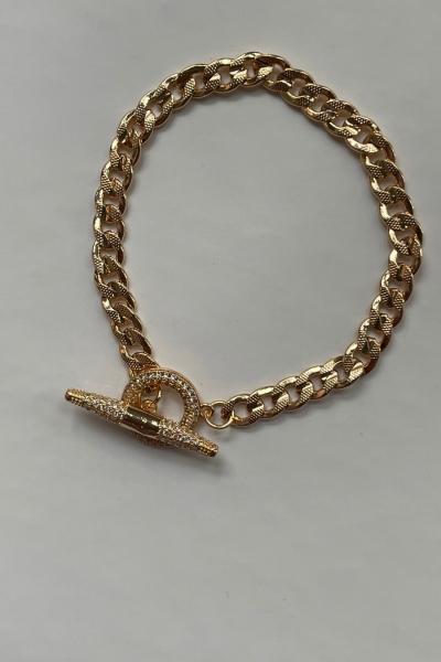 Lacey Gold Bracelet Lacey Gold Bracelet