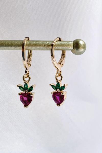 Strawberry Earring