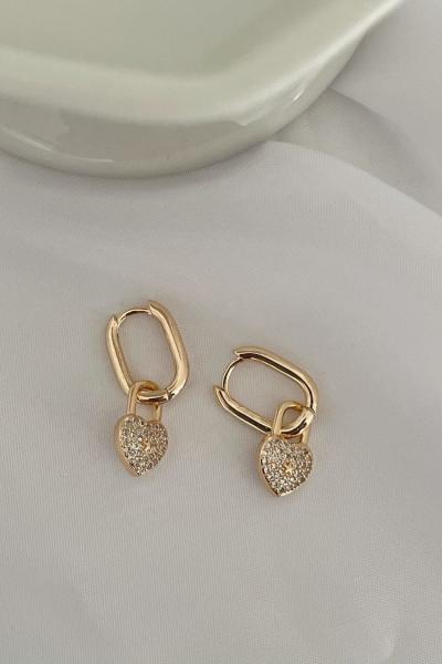 Lock Earring