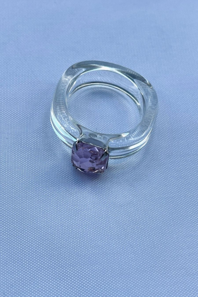 Nilky Crystal White Ring Nilky Crystal White Ring