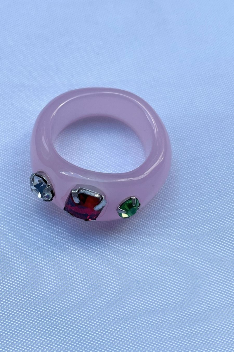 Nilky Pink Ring