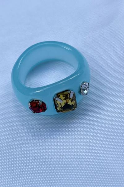 Nilky Blue Ring