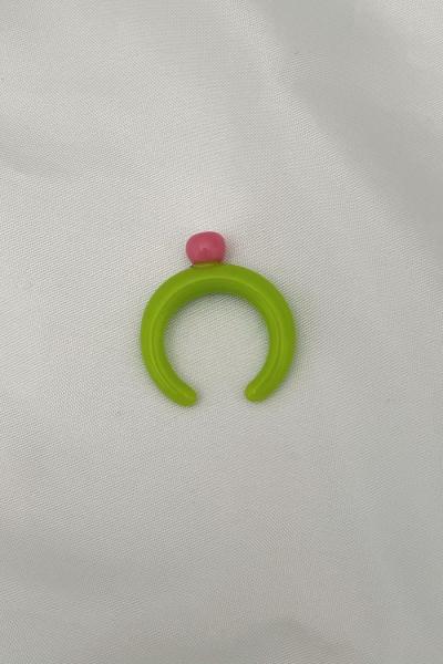 Nilky Green Pink Top Ring Nilky Green Pink Top Ring