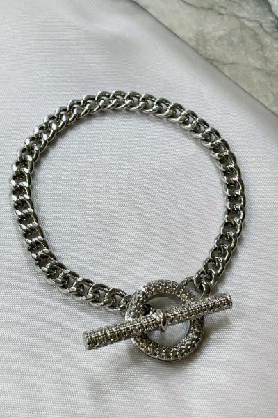 Lacey Silver Bracelet