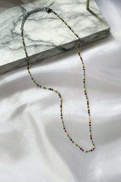 Color Train Necklace