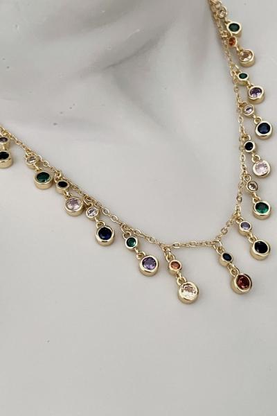 Frey Double Circus Necklace