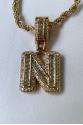 Letter Gold Necklace