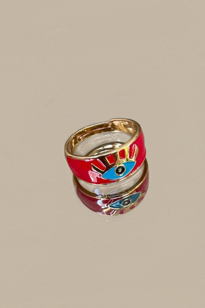 Red Charm Ring