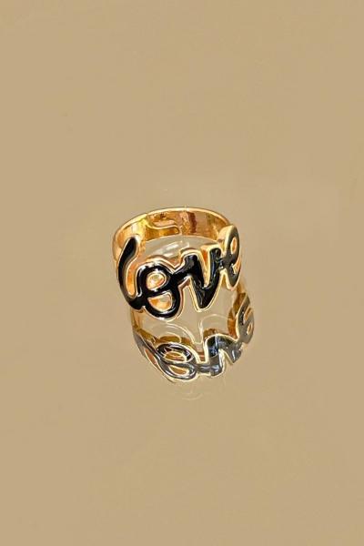 Black Love Ring