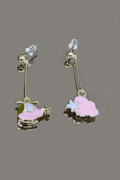 Pinky Heli Earring Pinky Heli Earring