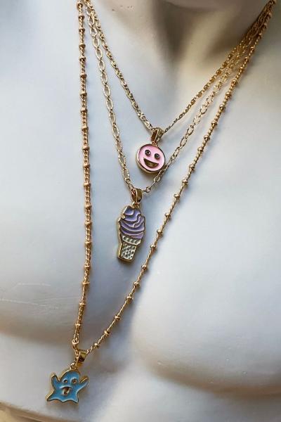 Happy Pink Necklace