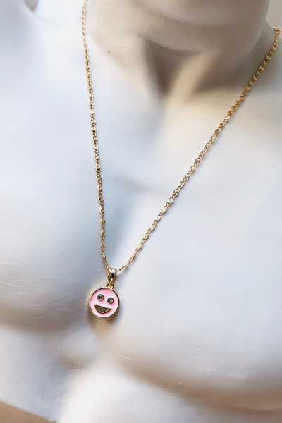 Happy Pink Necklace Happy Pink Necklace