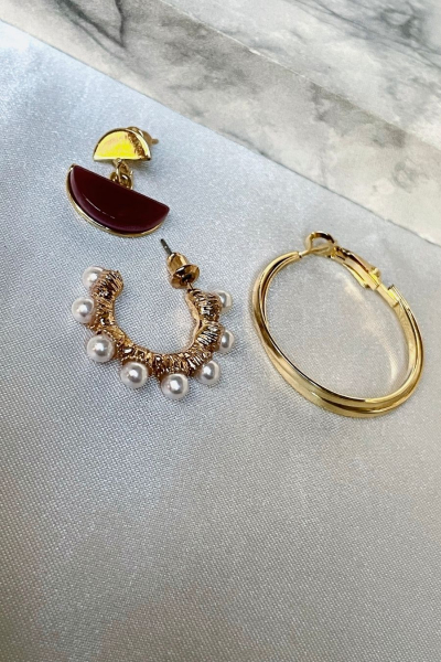 Aura Earring Set Aura Earring Set