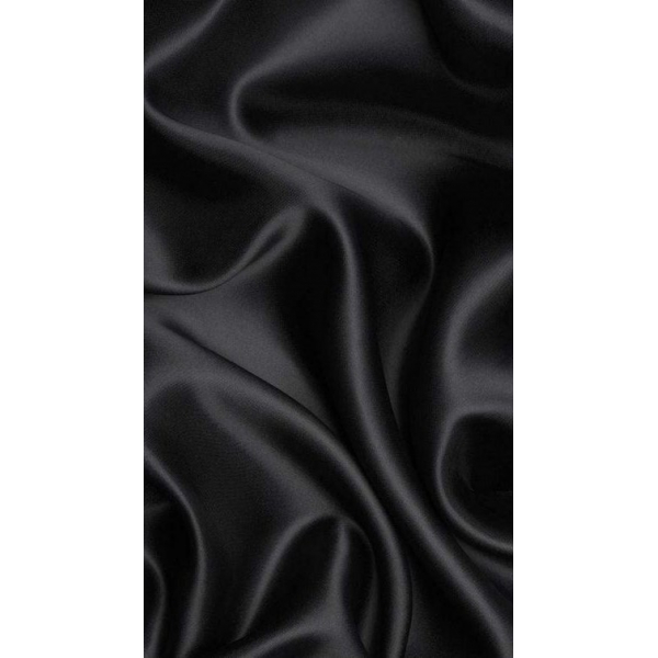 Black Satin Headwrap Black Satin Headwrap