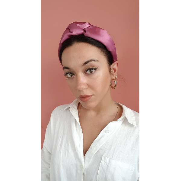 Satin Headtrend in Pink