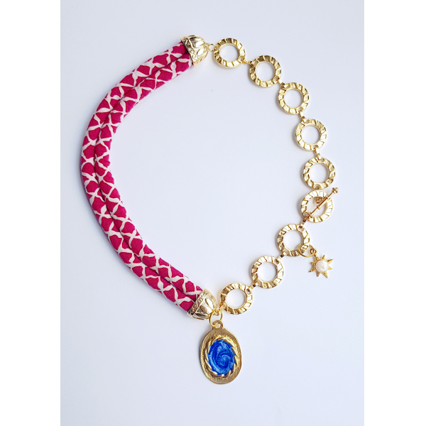 Jelly Me Necklace in Red