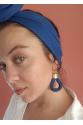 Denim Earring Fli