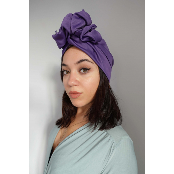 Purple Maxi Headwrap Purple Maxi Headwrap