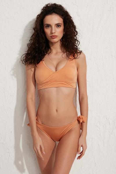 Less is More Chois Bronz Yandan Bağlamalı Bikini Altı LM18210 Bronze