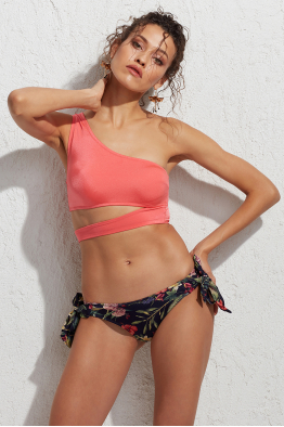 Less is More Pearl Bağlamalı Bikini Altı LM18204 Jungle